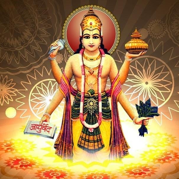 Dhanvantari le dieux de l ayurvéda