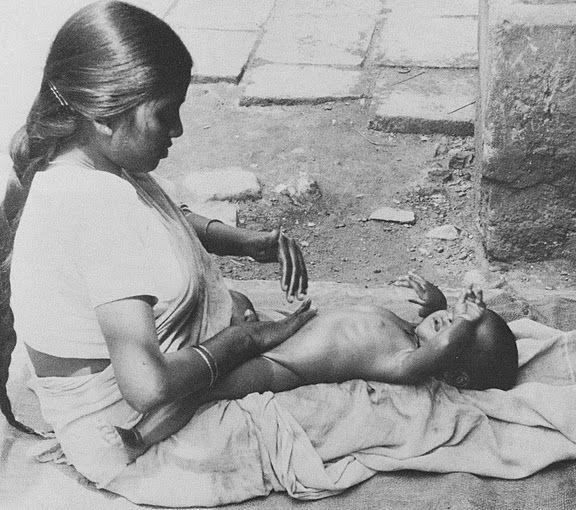 Shantala massage bébé