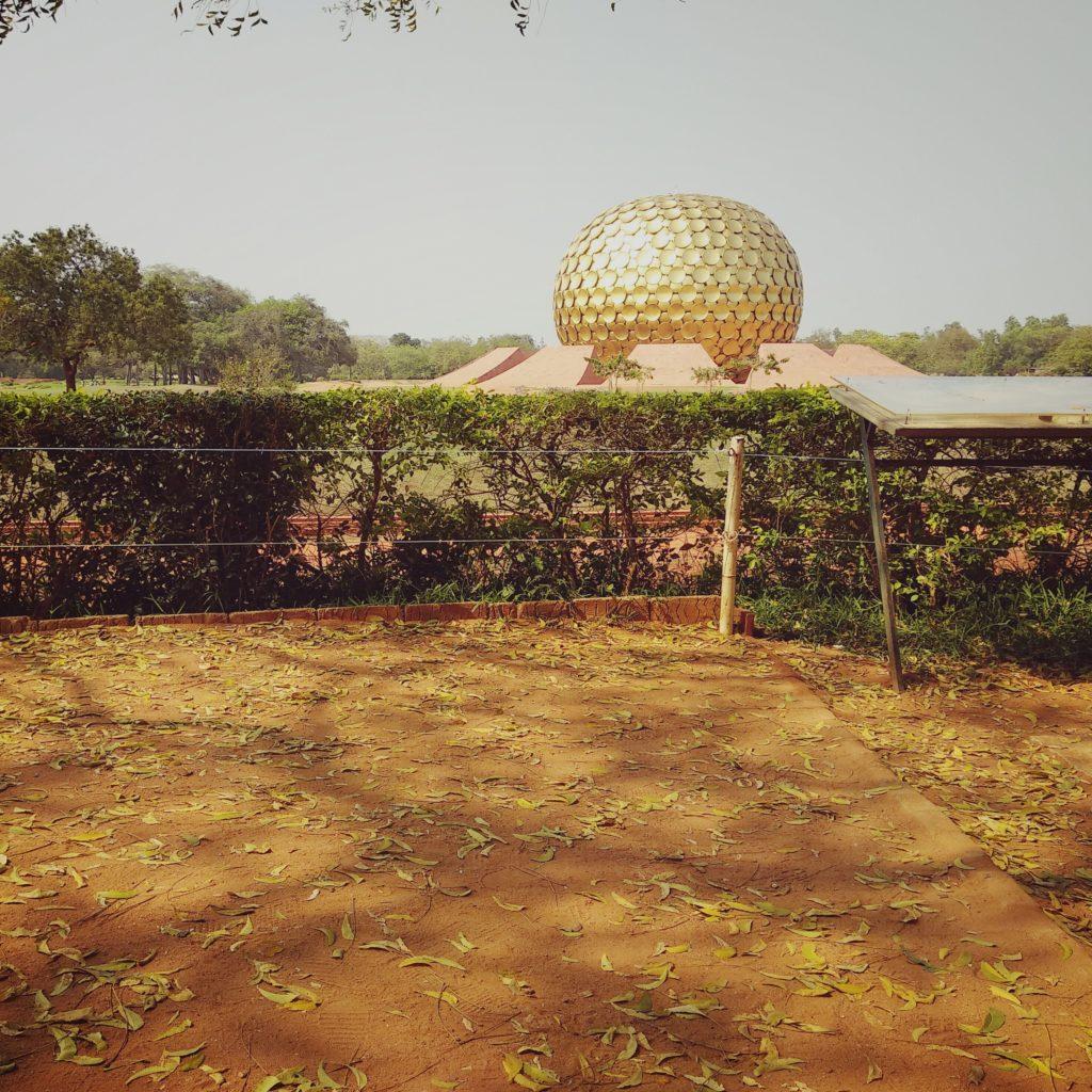 Auroville matrimandir