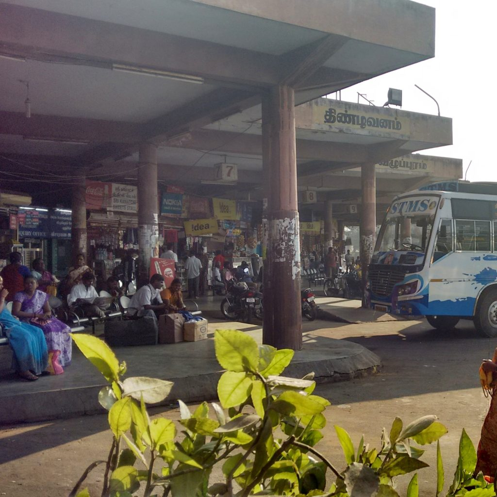 pondichery bus stand