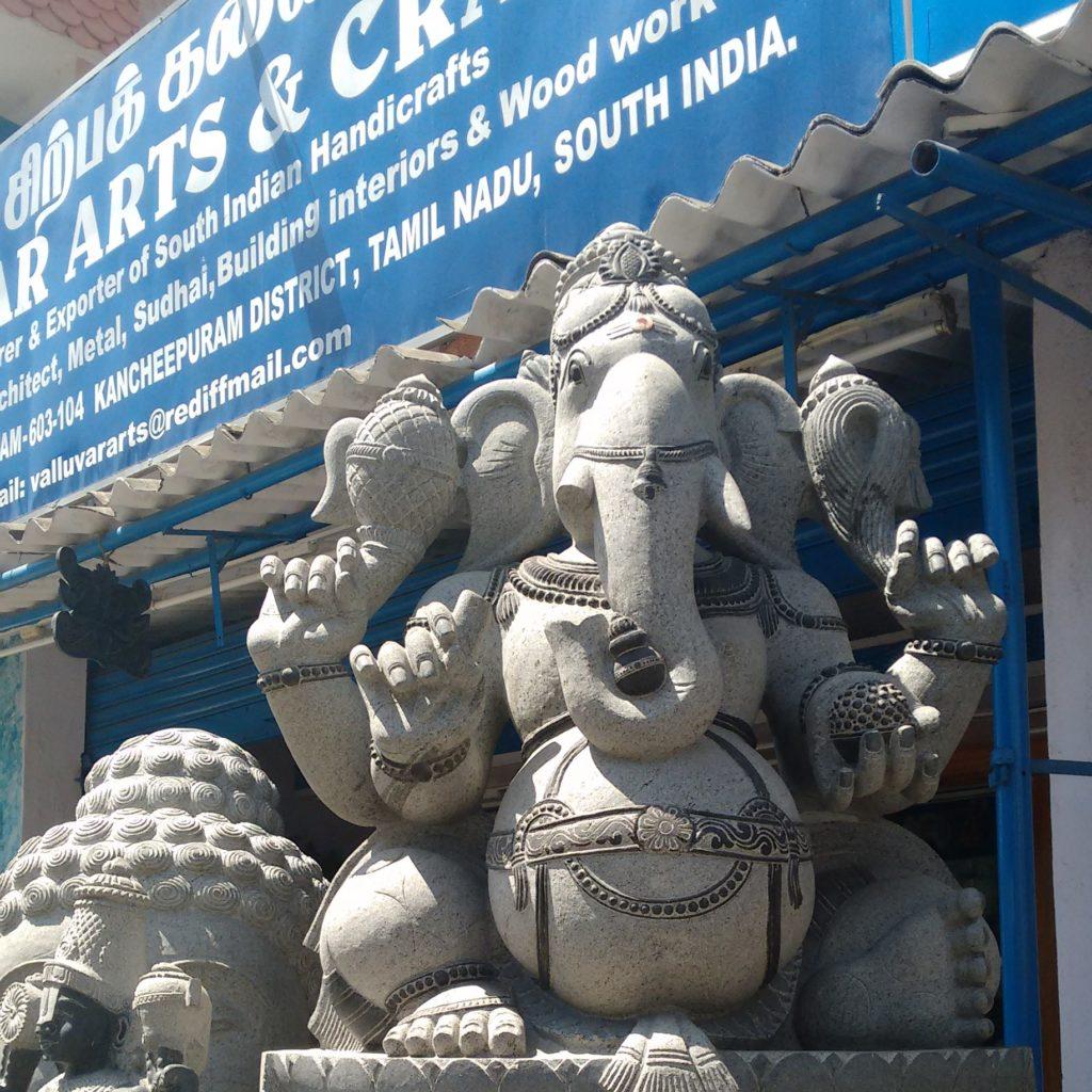 Sculpture ganesh mahabalipuram