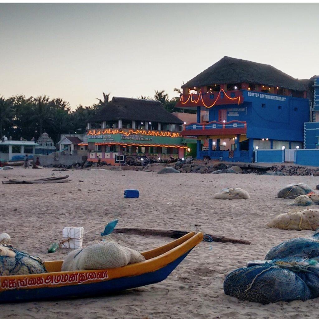 la plage de mahabalipuram